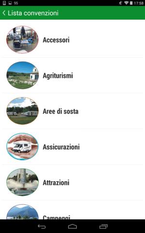 Android Camperlife, camperstops, Screen 4