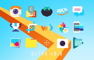 Android Ultra Icon Pack Screen 17