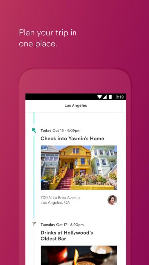 Android Airbnb Screen 1