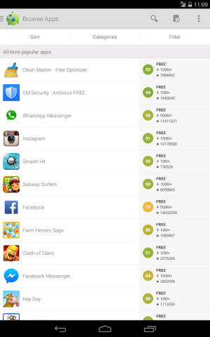 Android AppBrain App Markt Screen 5