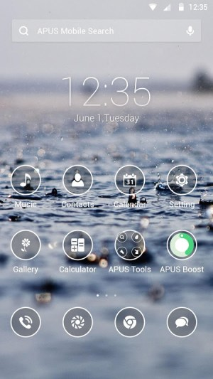 Android Simple Theme Screen 2