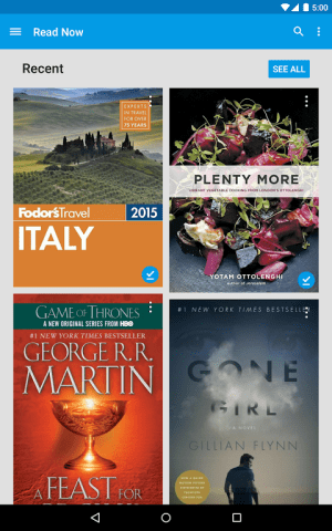 Android Google Play Books Screen 6