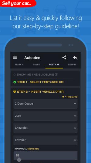 Android com.autopten.cheapcarsforsale Screen 18