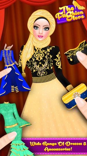 Android Hijab Fashion Doll Dress Up Screen 6