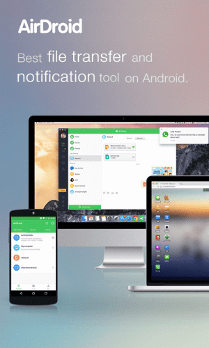 Android AirDroid: Remote access & File Screen 15