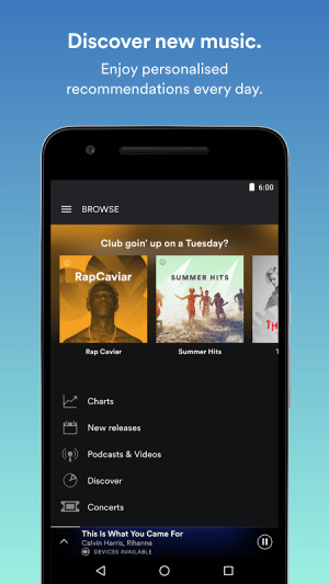 Android Spotify: Music Streaming App Screen 7