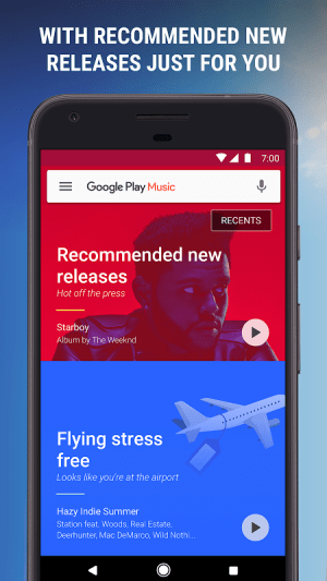 Android Google Play Music Screen 9