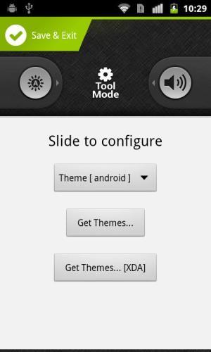 Android WidgetLocker Lockscreen Screen 5