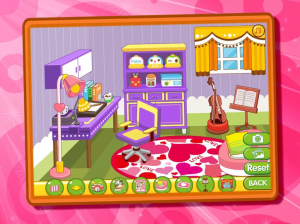 Android Little Princess Room Design Screen 2