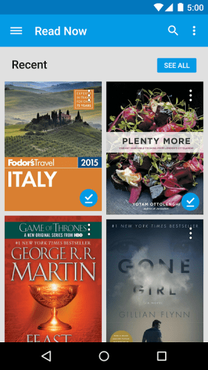 Android Google Play Books Screen 20