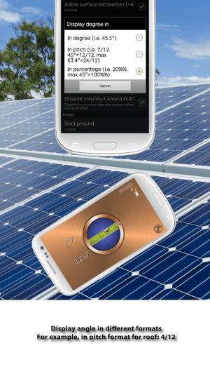 Android Advanced Bubble Level Screen 4
