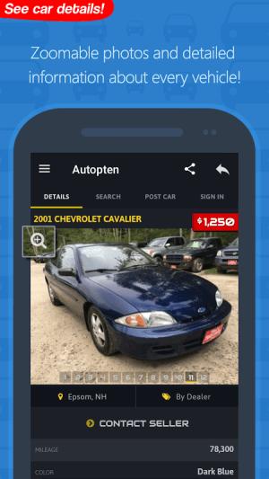 Android com.autopten.cheapcarsforsale Screen 20