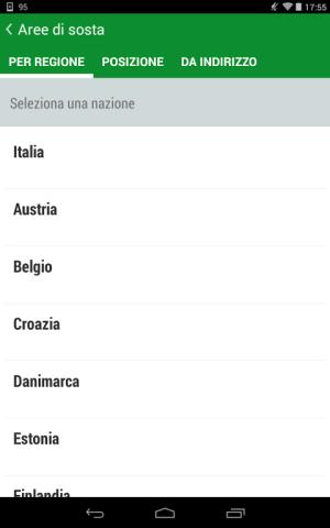 Android Camperlife, camperstops, Screen 8