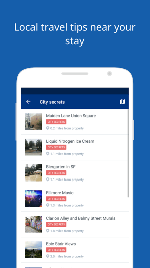 Android Booking.com Hotel Reservations Screen 8