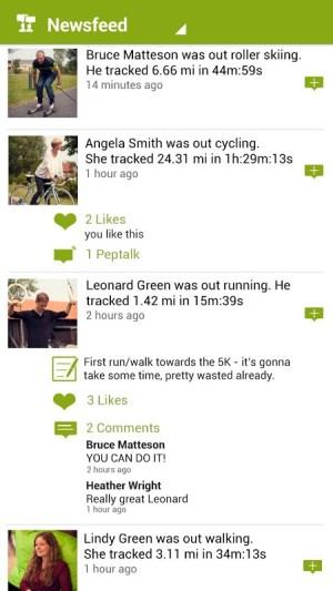 Android Endomondo Sports Tracker PRO Screen 19