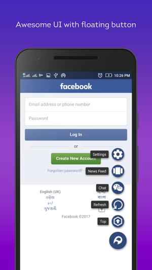 Android Lite Messenger FB- Facebrio Screen 4