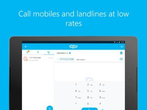Android Skype - free IM & video calls Screen 2
