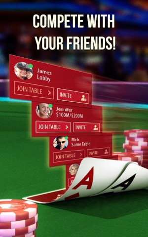 Android Zynga Poker Screen 4