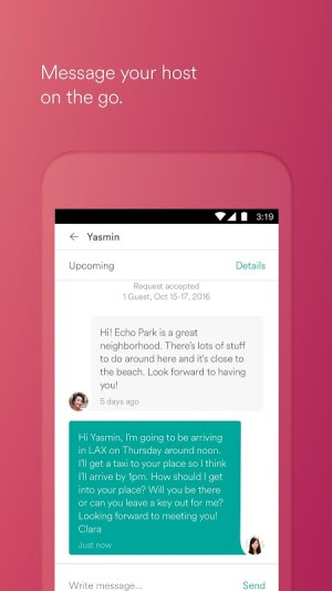 Android Airbnb Screen 2