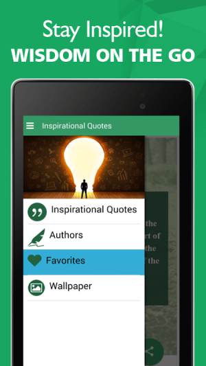 Android Best Inspirational Quotes Screen 3