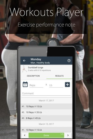 Fitness Coach FitProSport 4.54 Screen 2