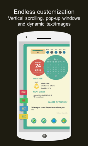Android Total Launcher Screen 3