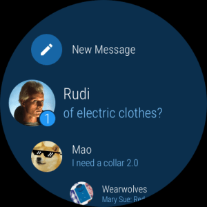 Telegram 1.0.1 Screen 5