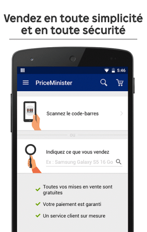 Android PriceMinister – Achat et Vente Screen 3