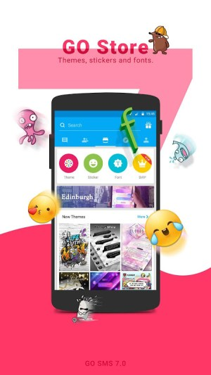 Android GO SMS Pro Screen 4