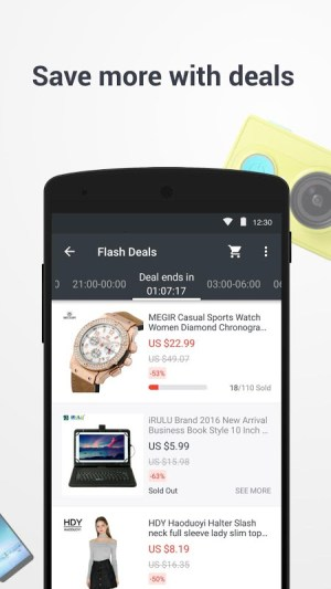 Android AliExpress Shopping App Screen 15
