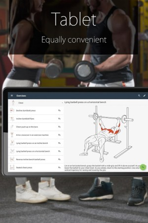 Fitness Coach FitProSport 4.54 Screen 1