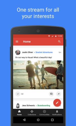 Google+ 9.12.0.155676601 Screen 3