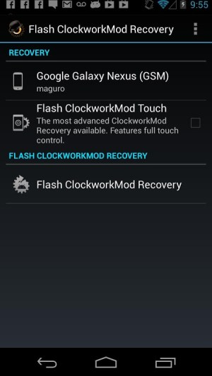 Android ROM Manager Screen 4