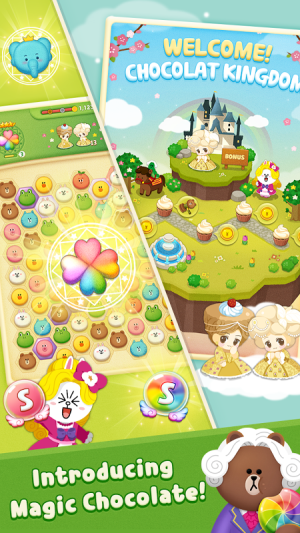 Android LINE POPChocolat Screen 3