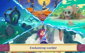 Android Bubble Witch 2 Saga Screen 3