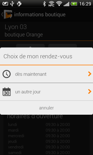 Android Mes Boutiques Screen 4