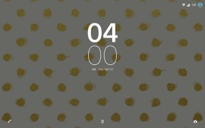XPERIA™ Golden Theme 1.0.1 Screen 2