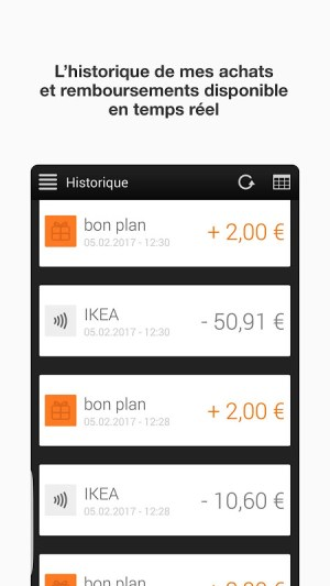 Android Orange Cash Screen 3