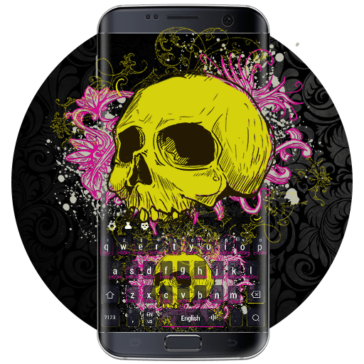 Graffiti personalized flourishing skeleton 10001005 icon