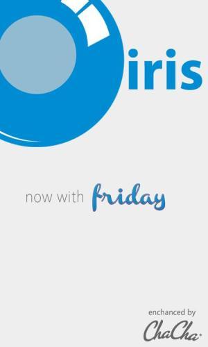 Android iris. Screen 1
