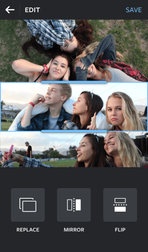 Android Layout from Instagram: Collage Screen 2