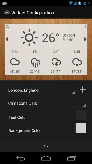 Android Eye In Sky Weather Screen 4