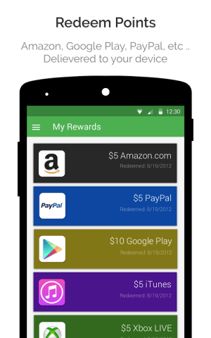 Android appKarma Rewards & Gift Cards Screen 3