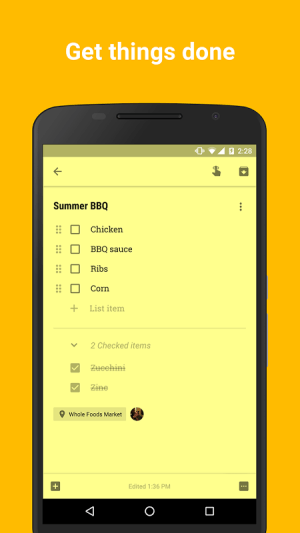 Google Keep - notes and lists 3.4.491.02.40 Screen 7