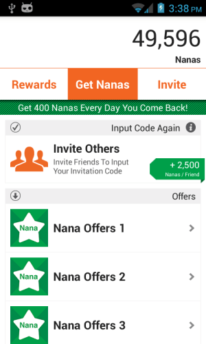 AppNana - Free Gift Cards 3.0.0 Screen 9
