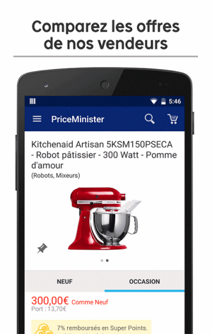 Android PriceMinister – Achat et Vente Screen 2