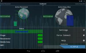 Connection Stabilizer Booster 1.2.1 Screen 2