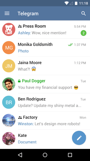 Telegram 3.16.1 Screen 7