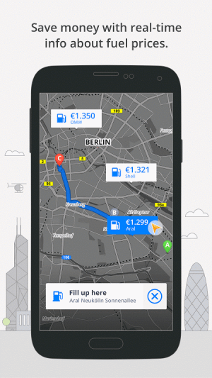 Android GPS Navigation & Maps Sygic Screen 8