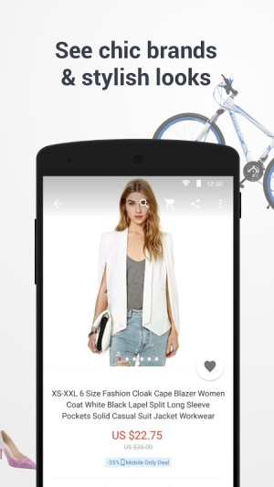 Android AliExpress Shopping App Screen 14